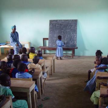 School in Gambia